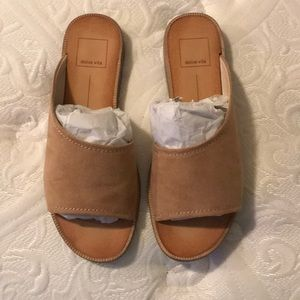 Dolce Vita suede sandals